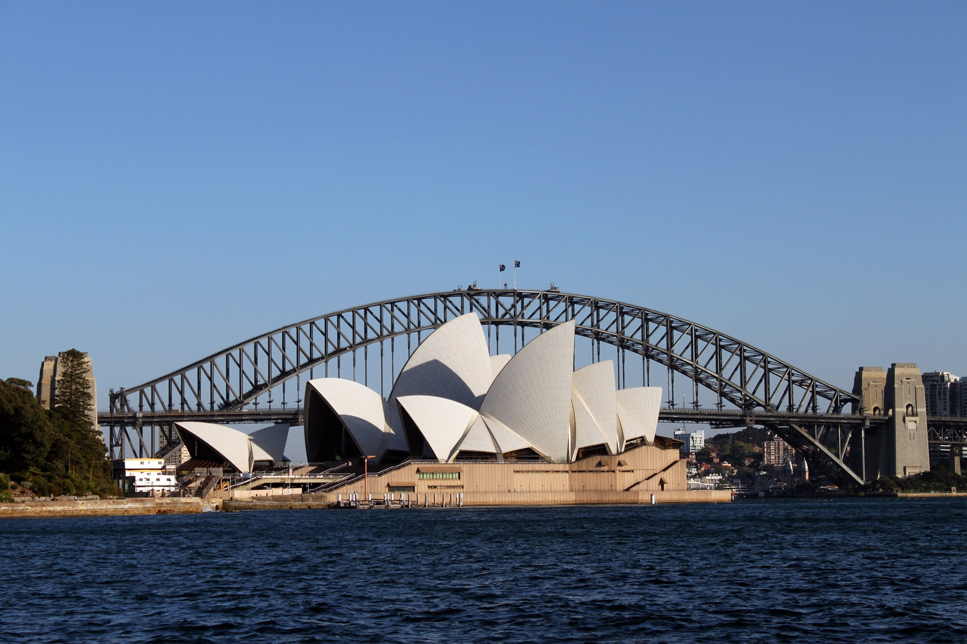 Sydney Opera House and Sydney Harbour Bridge, Sydney Australia