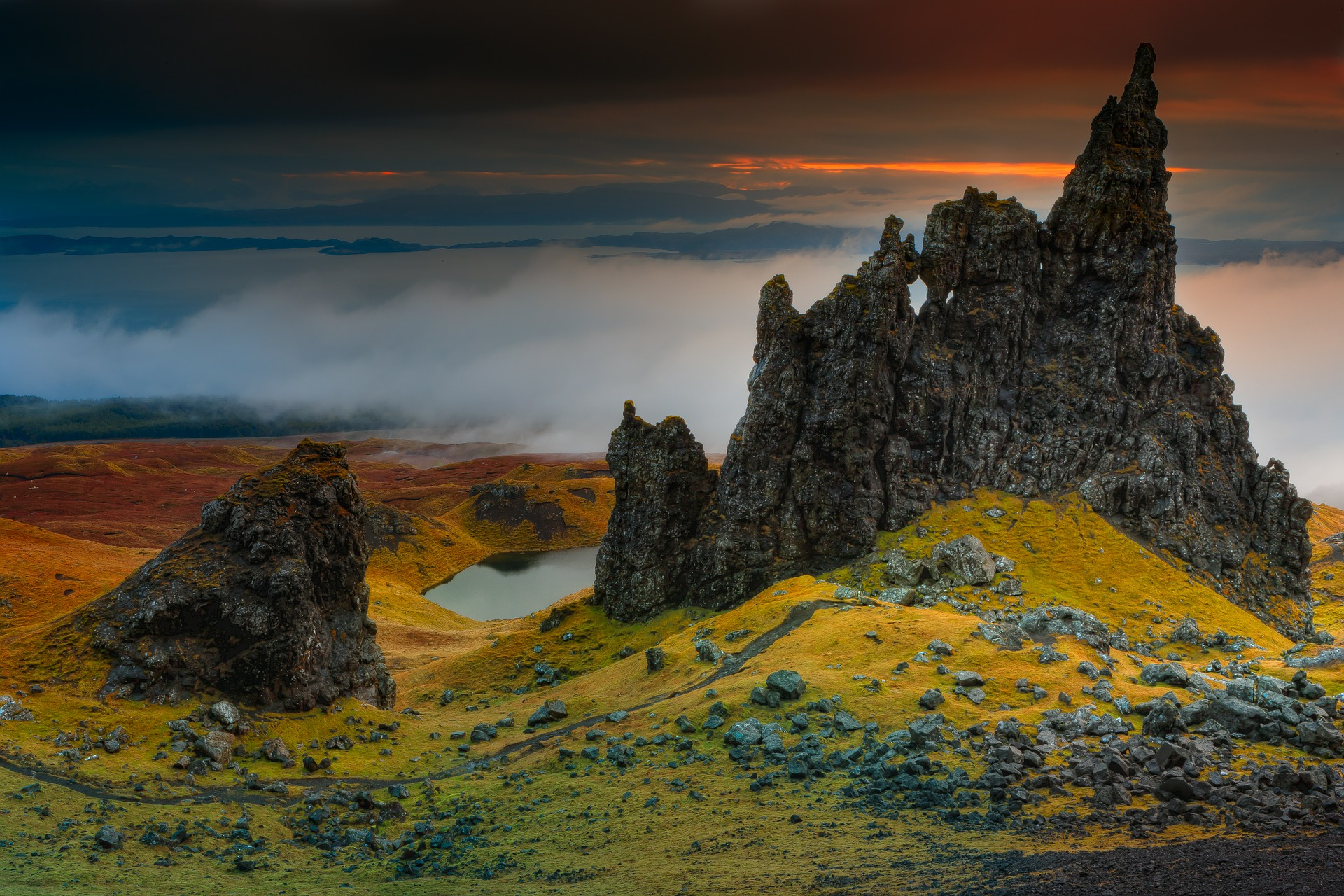 The Storr, Isle of Skye, Scotland