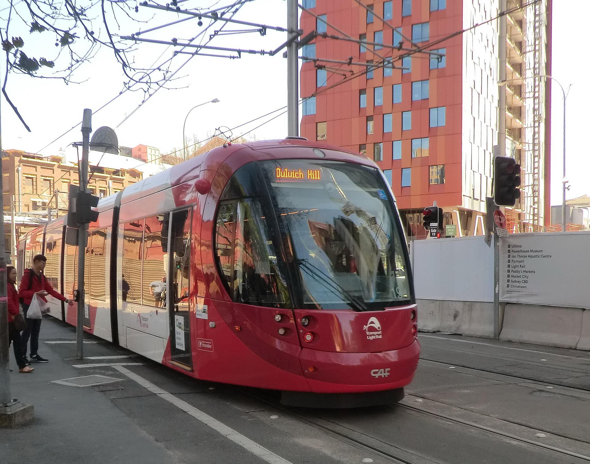Tram in Sydney, Australia