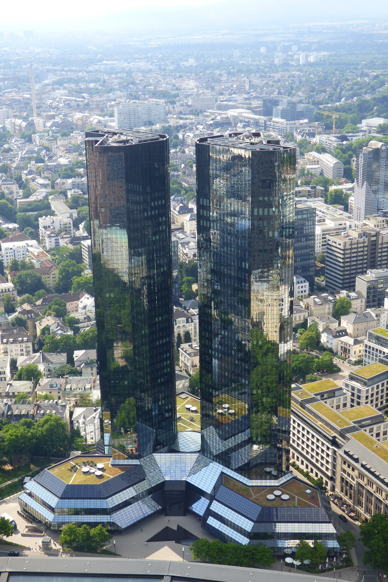 Deutsche Bank headquaters, Frankfurt, Germany