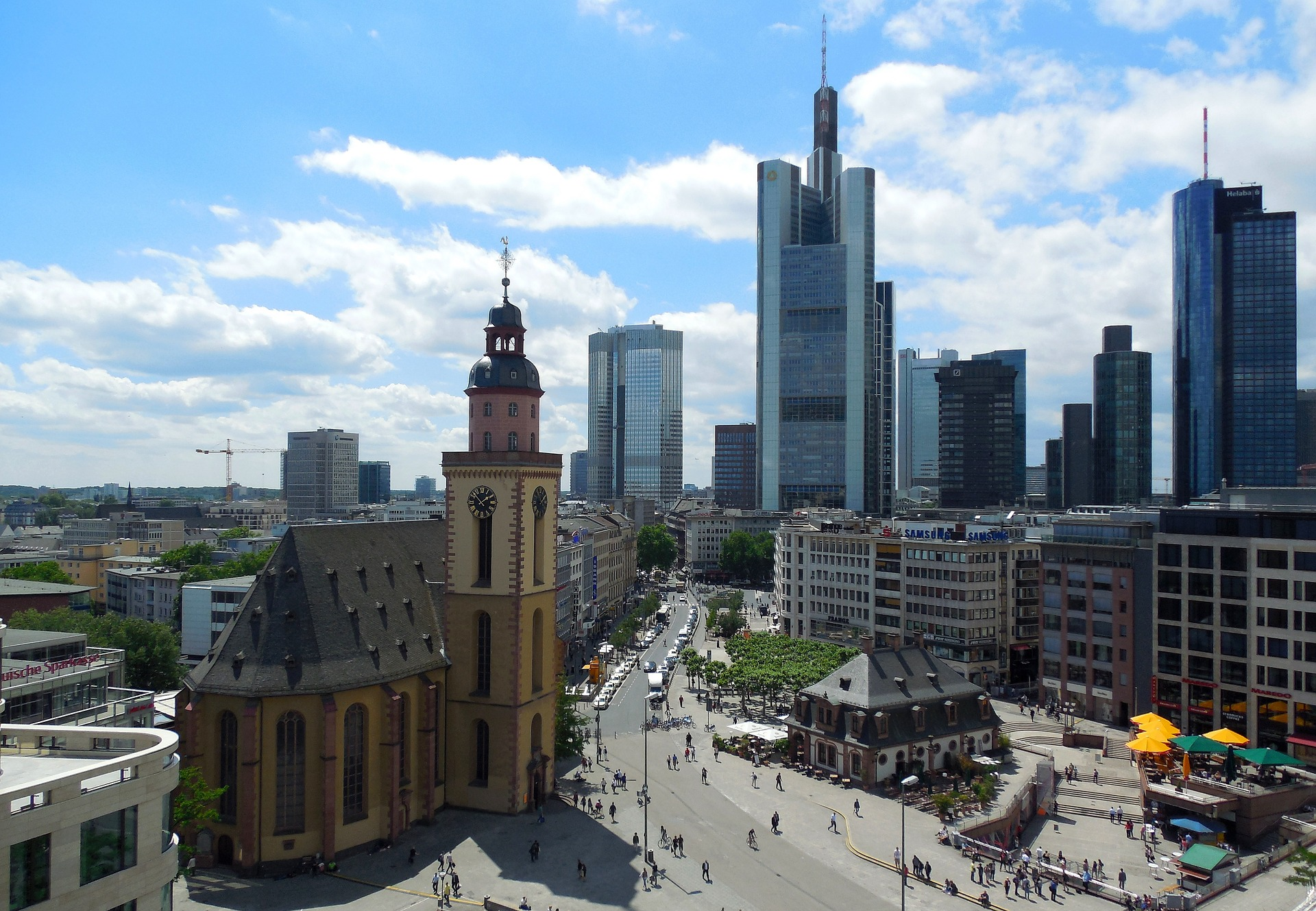 Main Guard Square in Frankfurt am Main, Germany