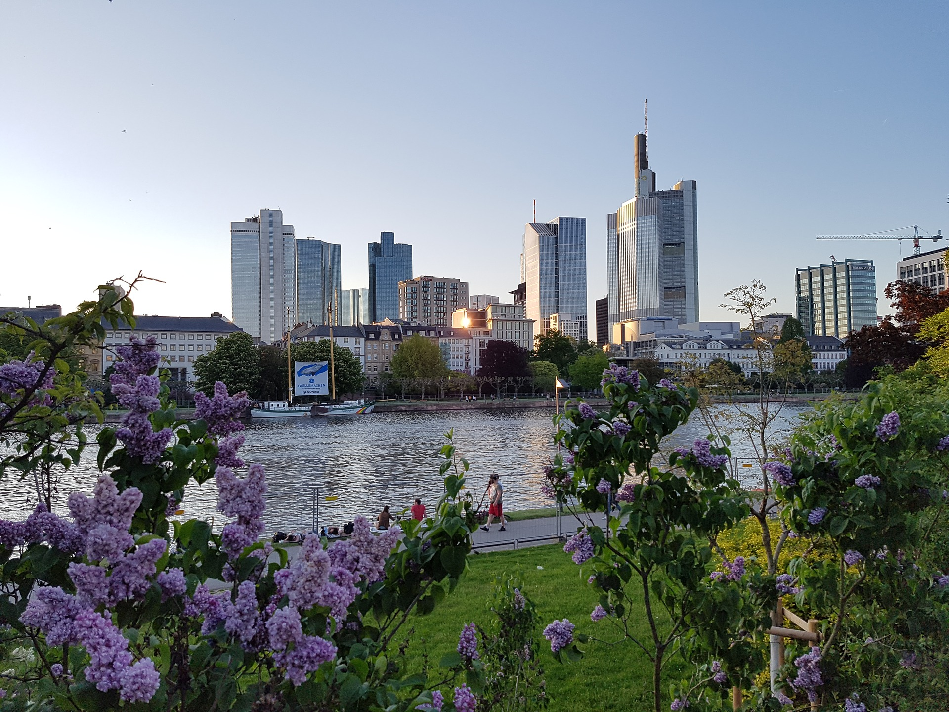 River Main, Frankfurt, Germany
