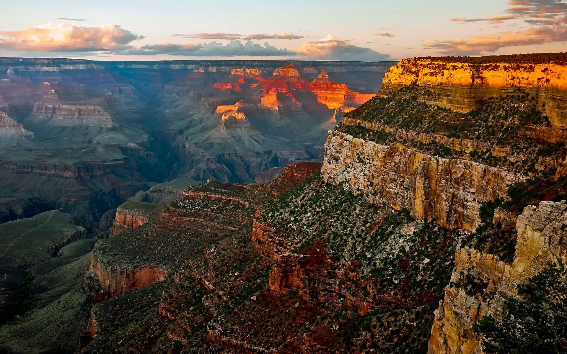 Sunset, Grand Canyon, USA