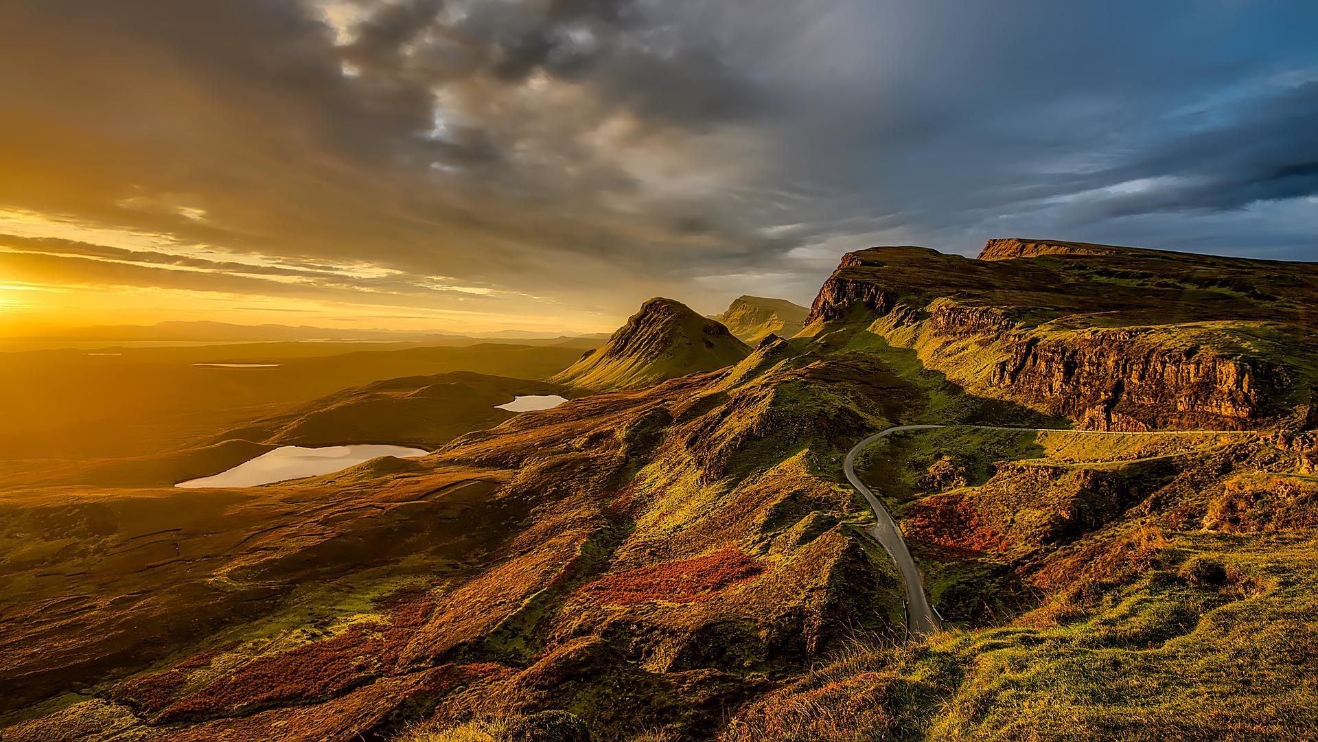Sunset, Scotland