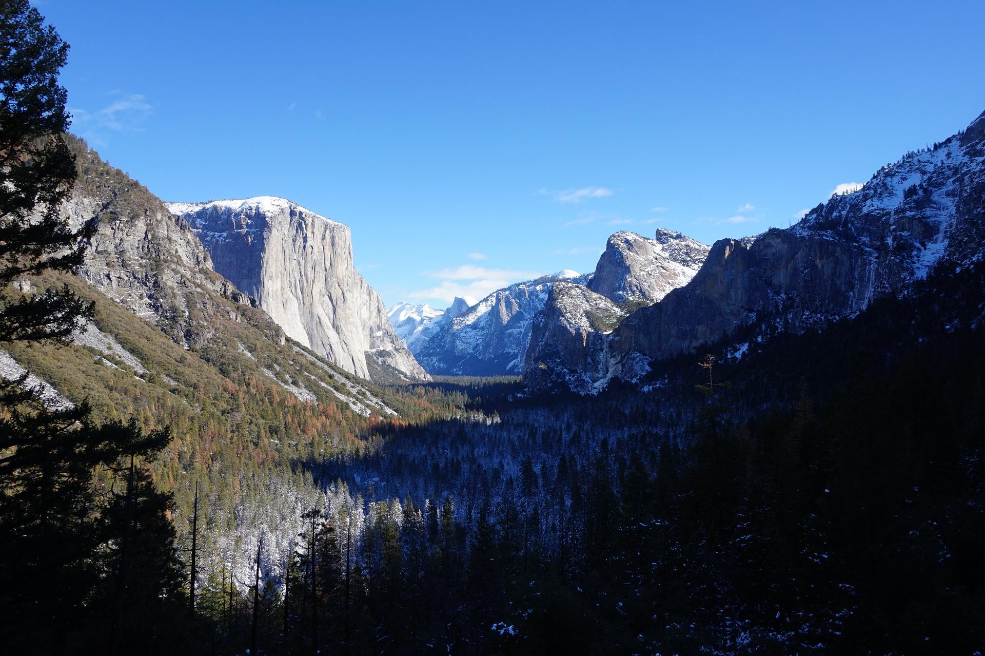 Tunnel View, Yosemite National Park in California, USA