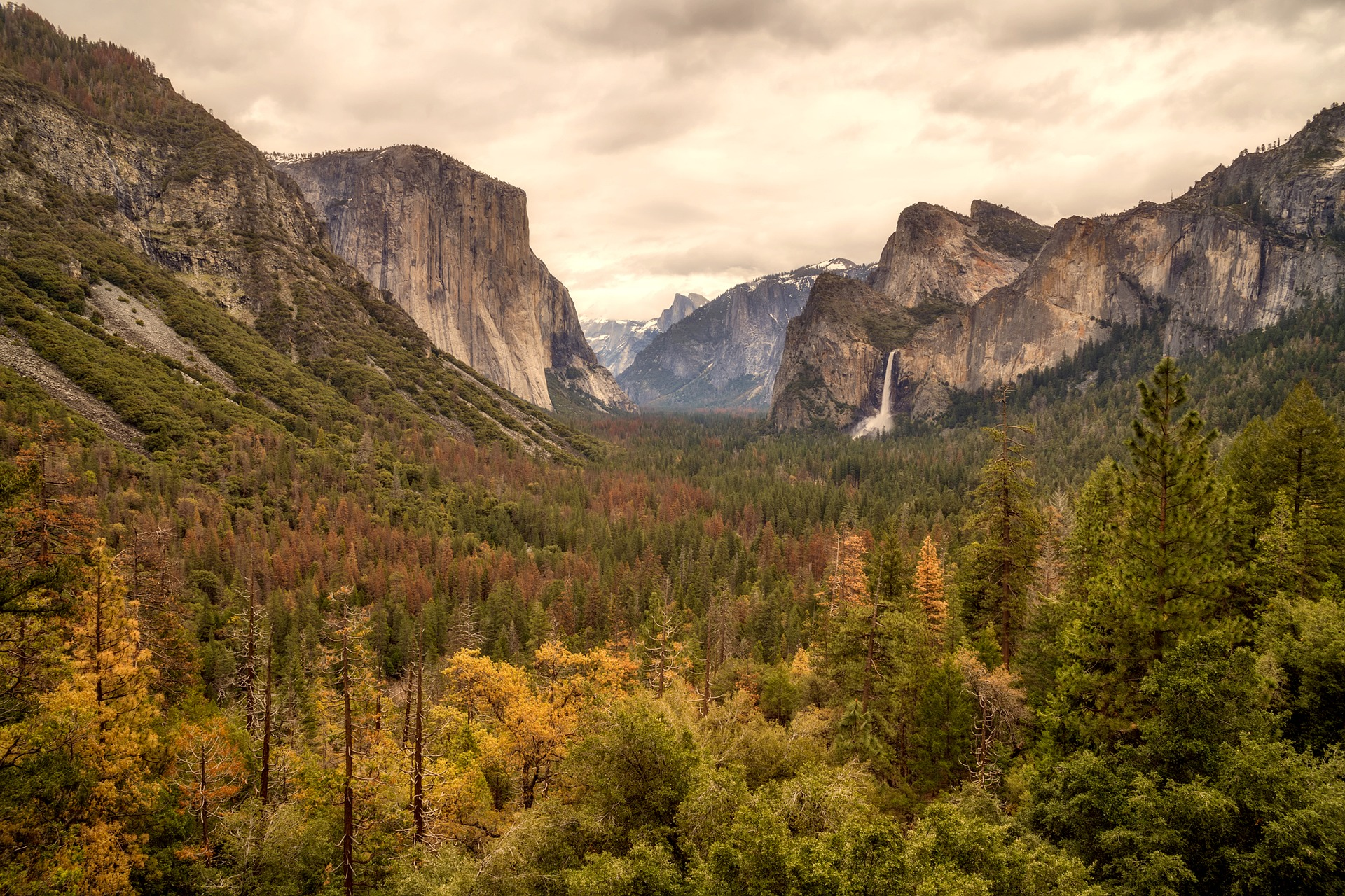 Yosemite National Park in California, USA
