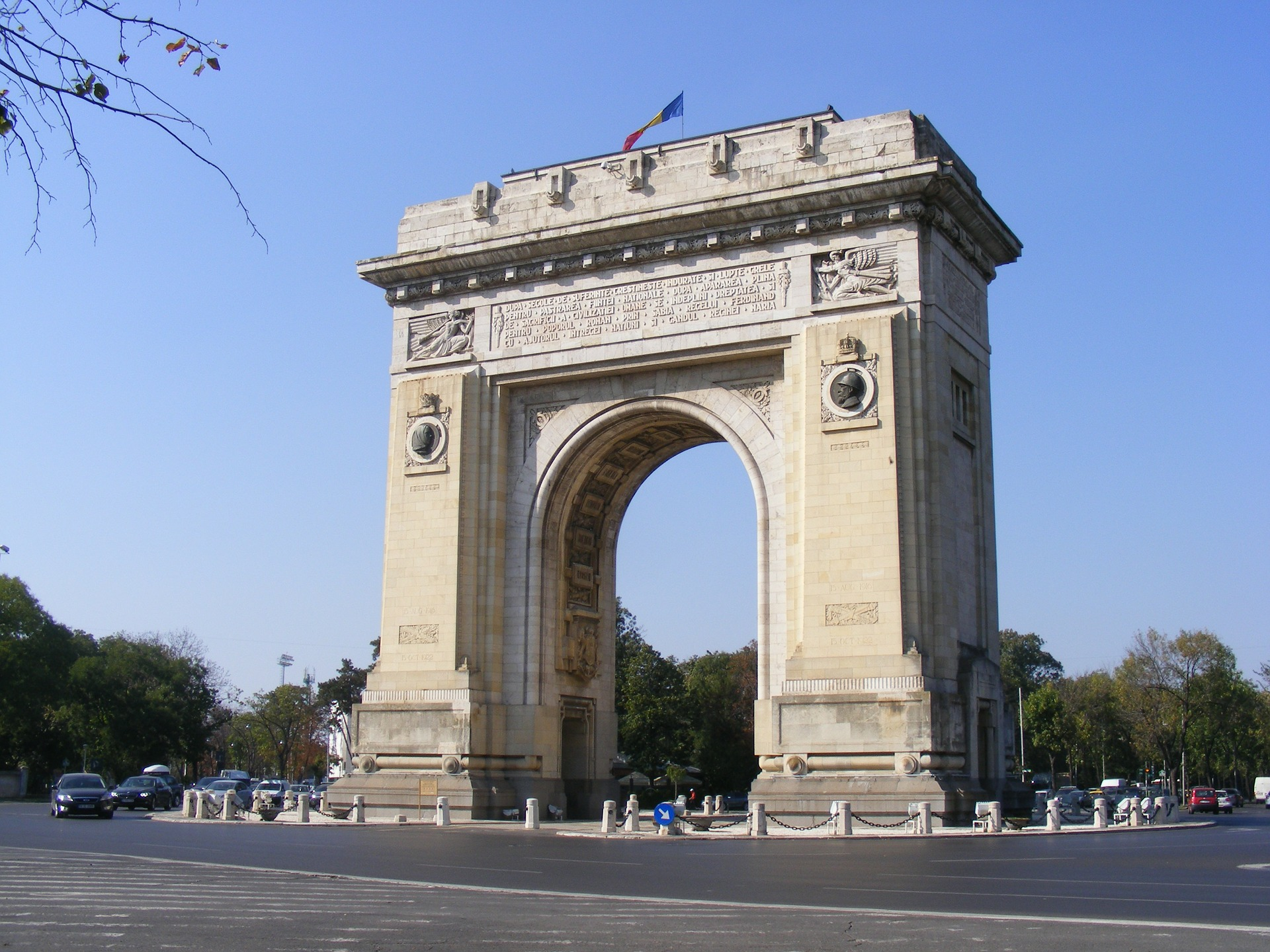 Arcul de Triumf, Bucharest, Romania