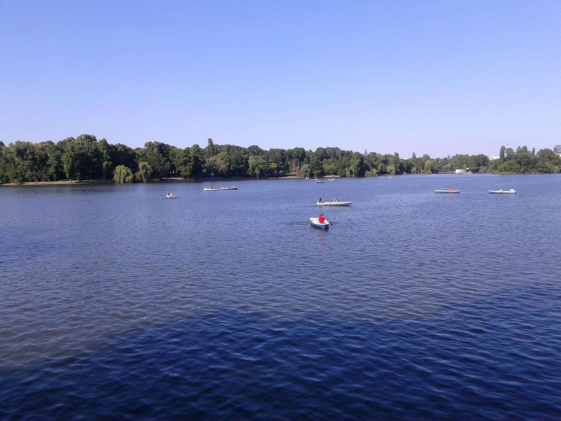 Lake Herăstrău, Herăstrău Park, Bucharest, Romania