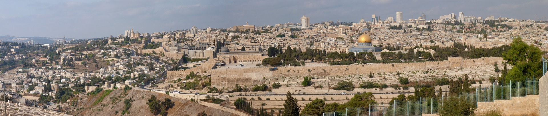 Panoramic view of Jerusalem, Israel