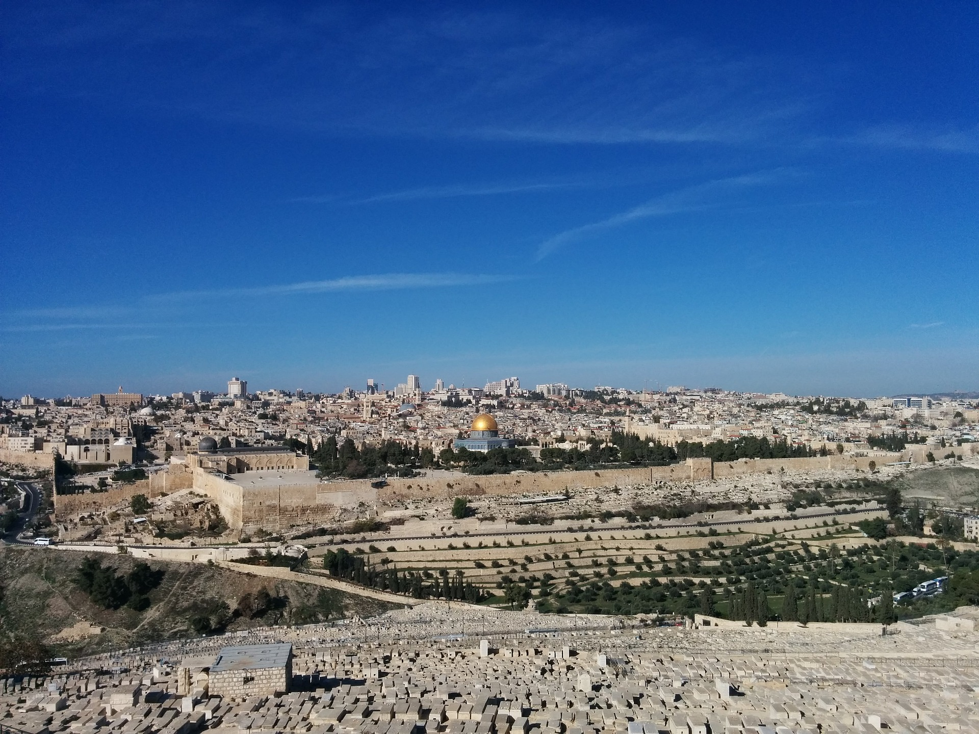 The Mount of Olives, Jerusalem, Israel