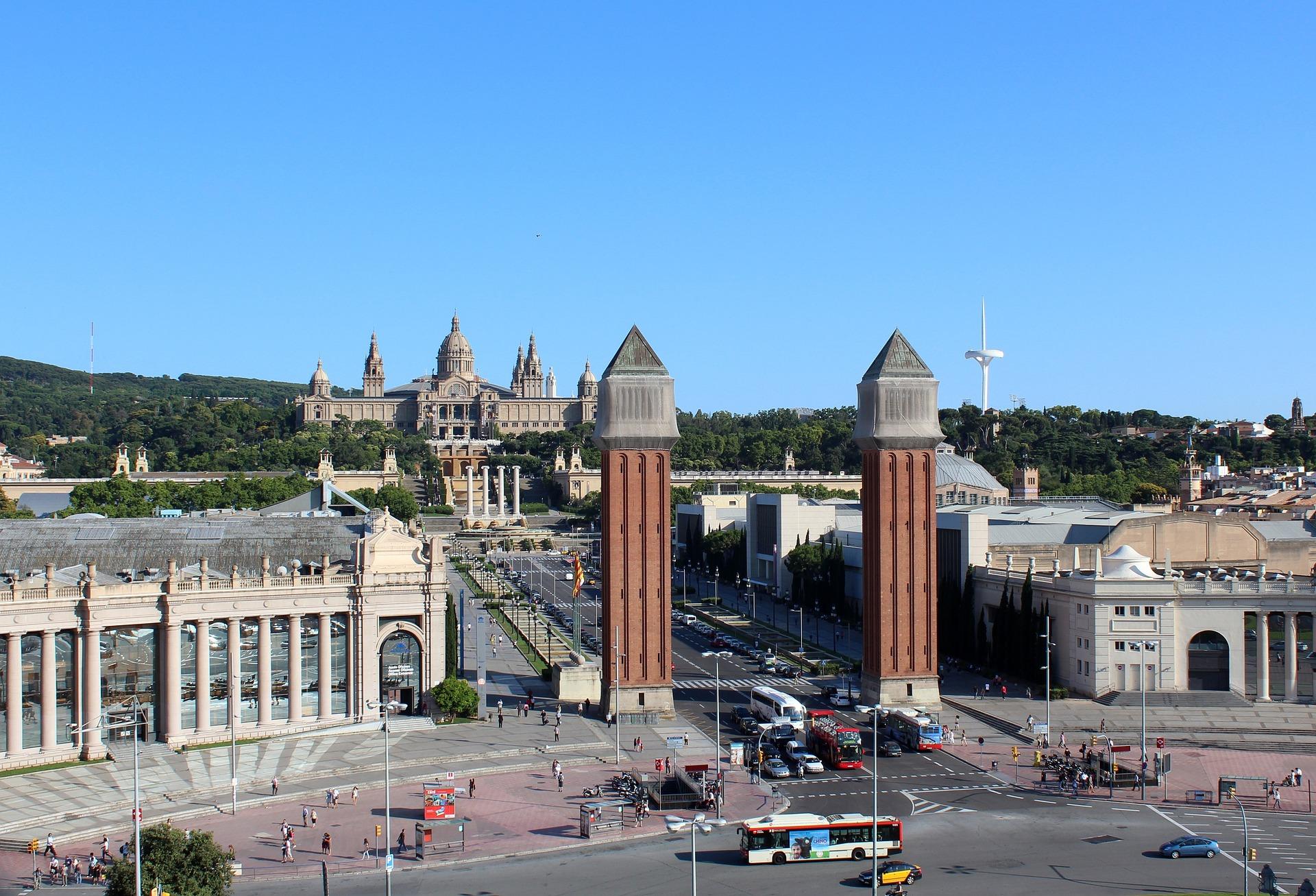 The Museu Nacional d'Art de Catalunya, Barcelona, Spain