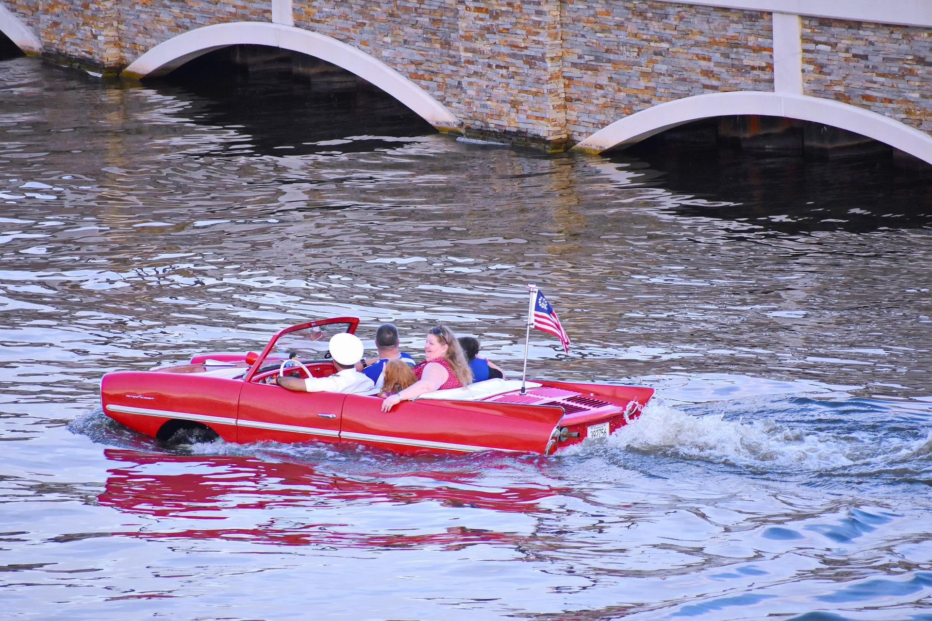 Boat ride in Orlando, Florida