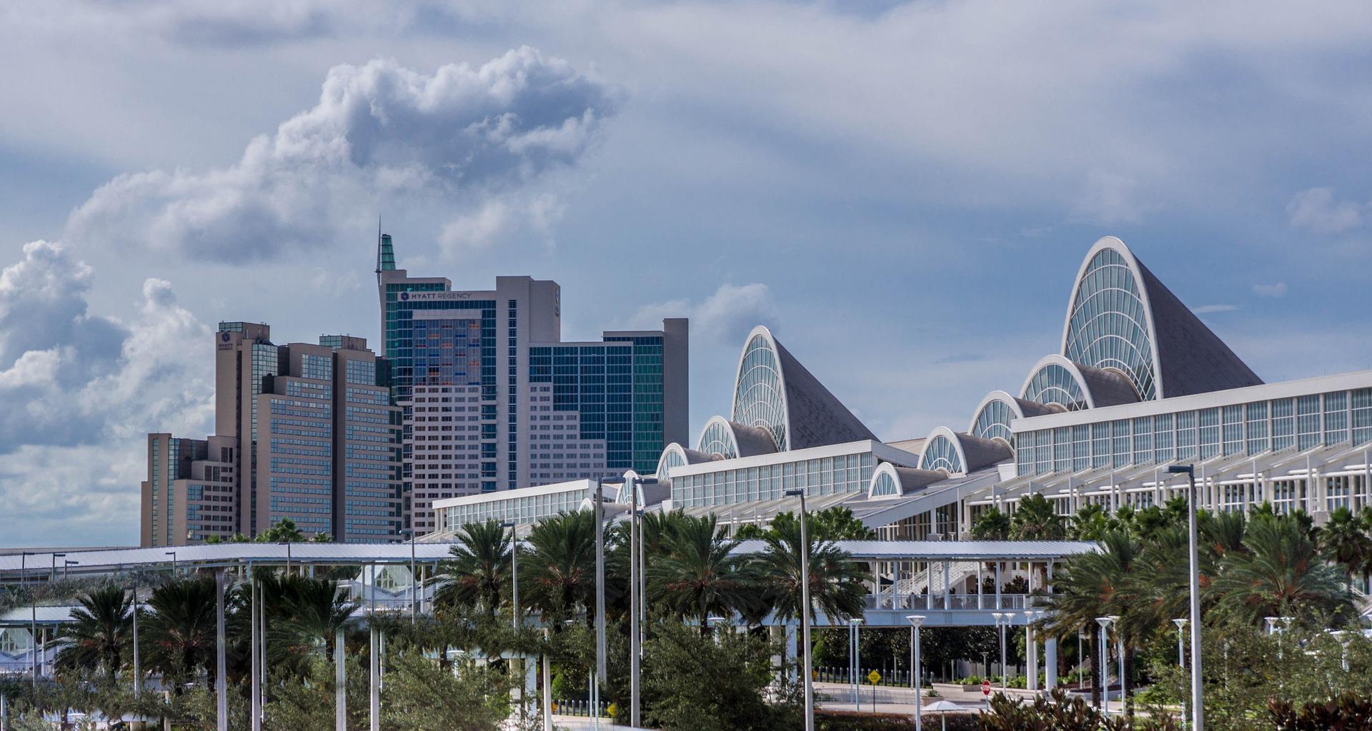 The Orange County Convention Centre, Orlando, FL