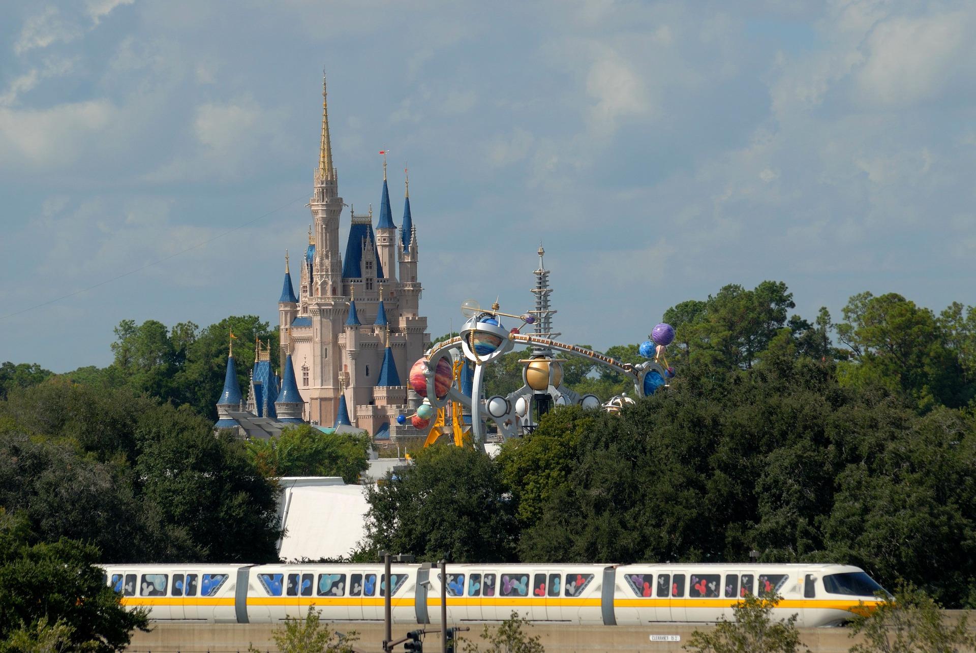 Train at Walt Disney World