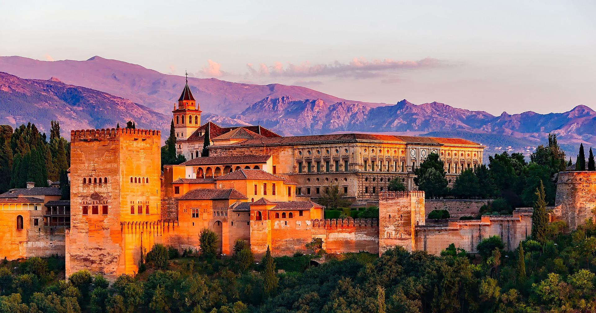 Palace of Charles V, Granada, southern Spain
