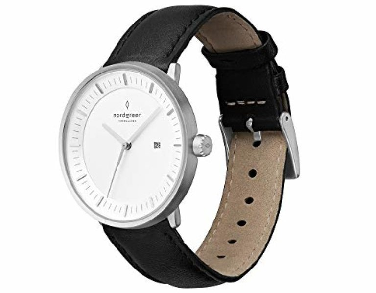 Nordgreen unisex philosopherscandinavian analog-watch in silver 40mm