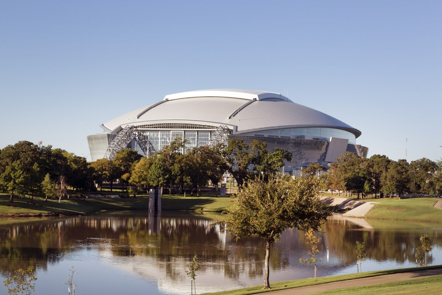 AT&T Stadium, home of the Dallas Cowboys football team