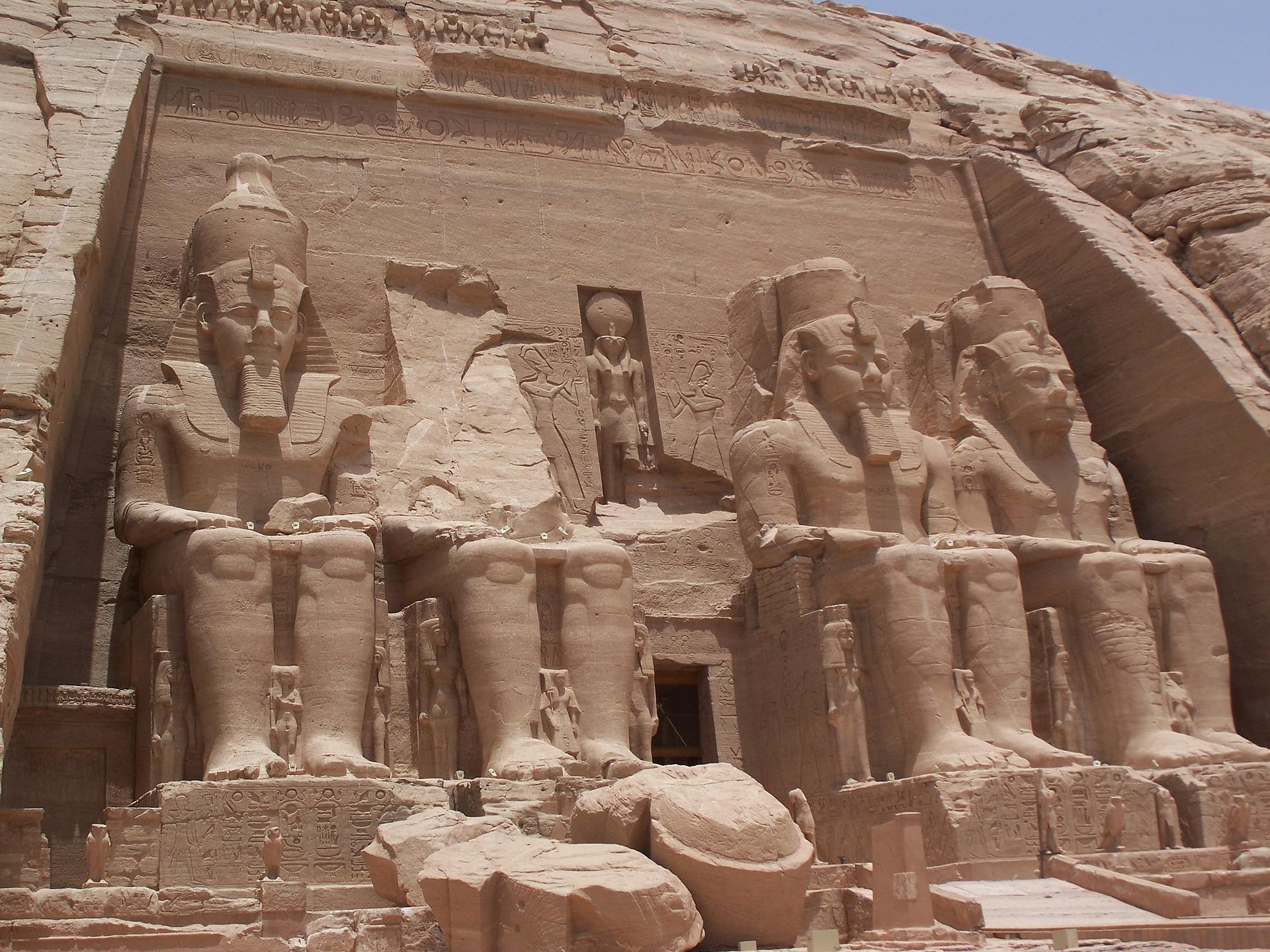 Abu Simbel Temples of Ramesses II, Egypt