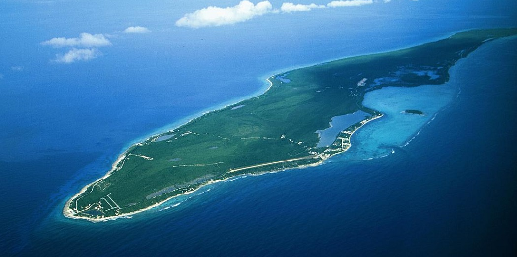 Aerial View of Little Cayman