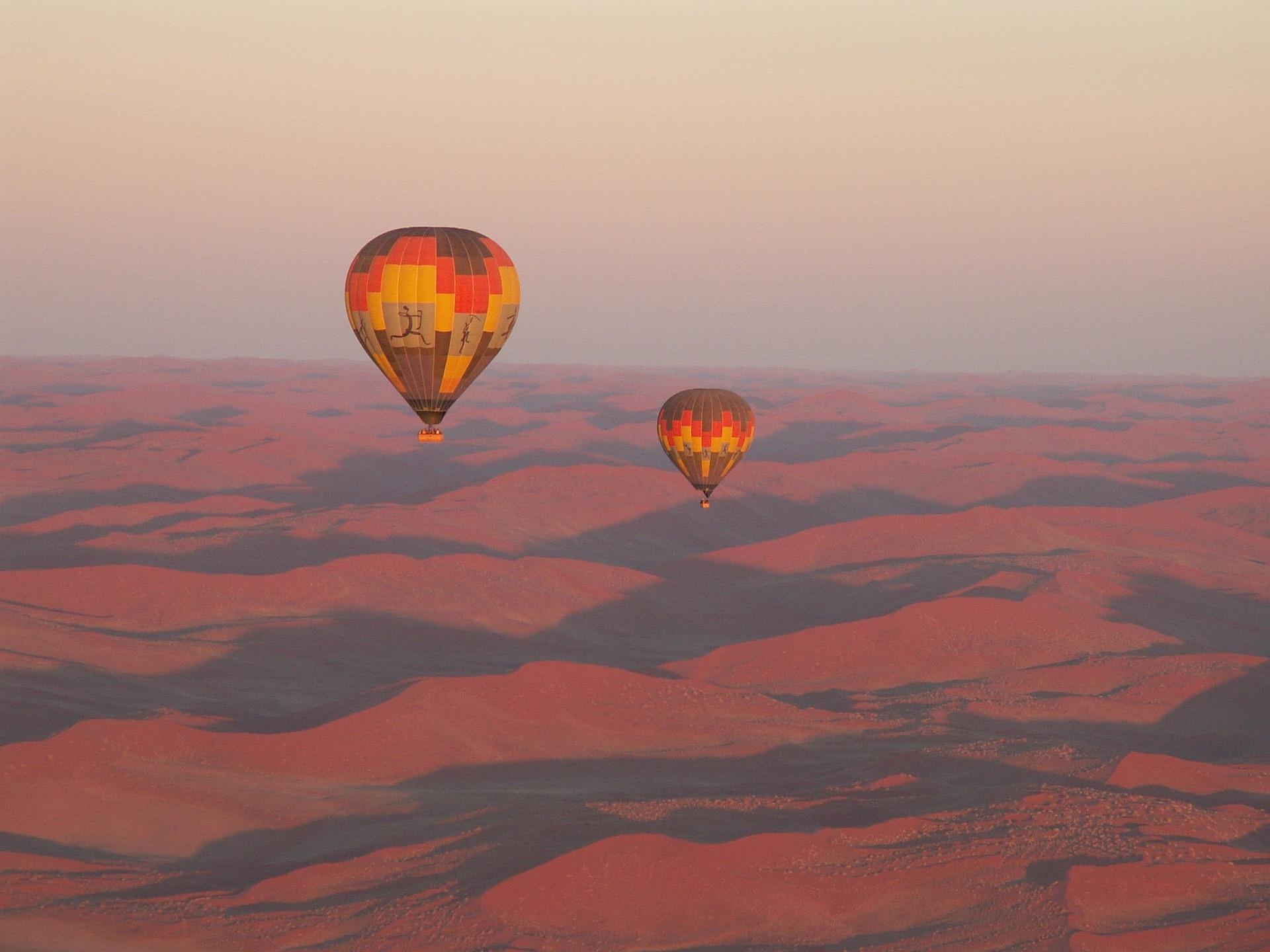 Air Baloons, Namibia