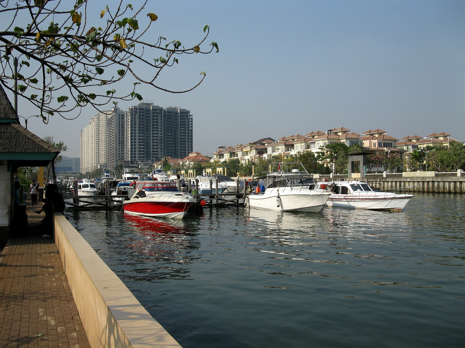 Ancol harbour, Jakarta, Indonesia