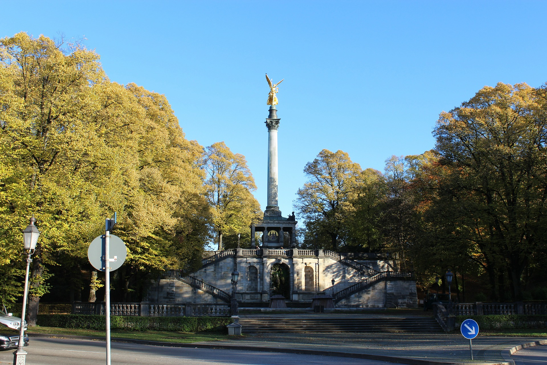 Angel of Peace, Munich, Germany