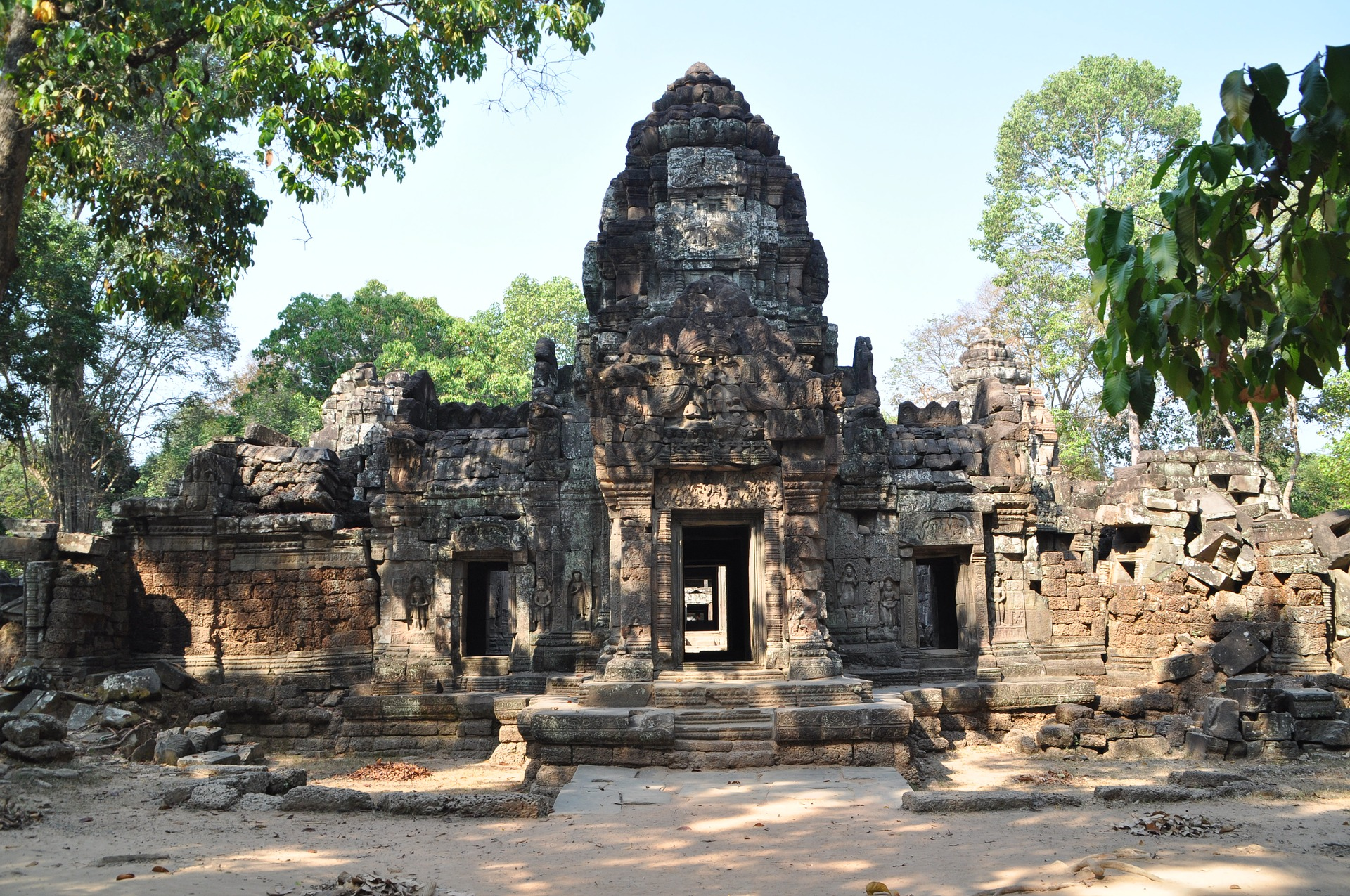 Angkor, a UNESCO World Heritage Site in Cambodia