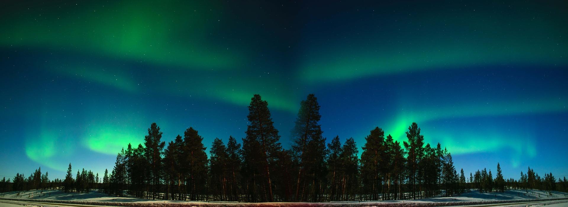 Aurora in Inari, Finland