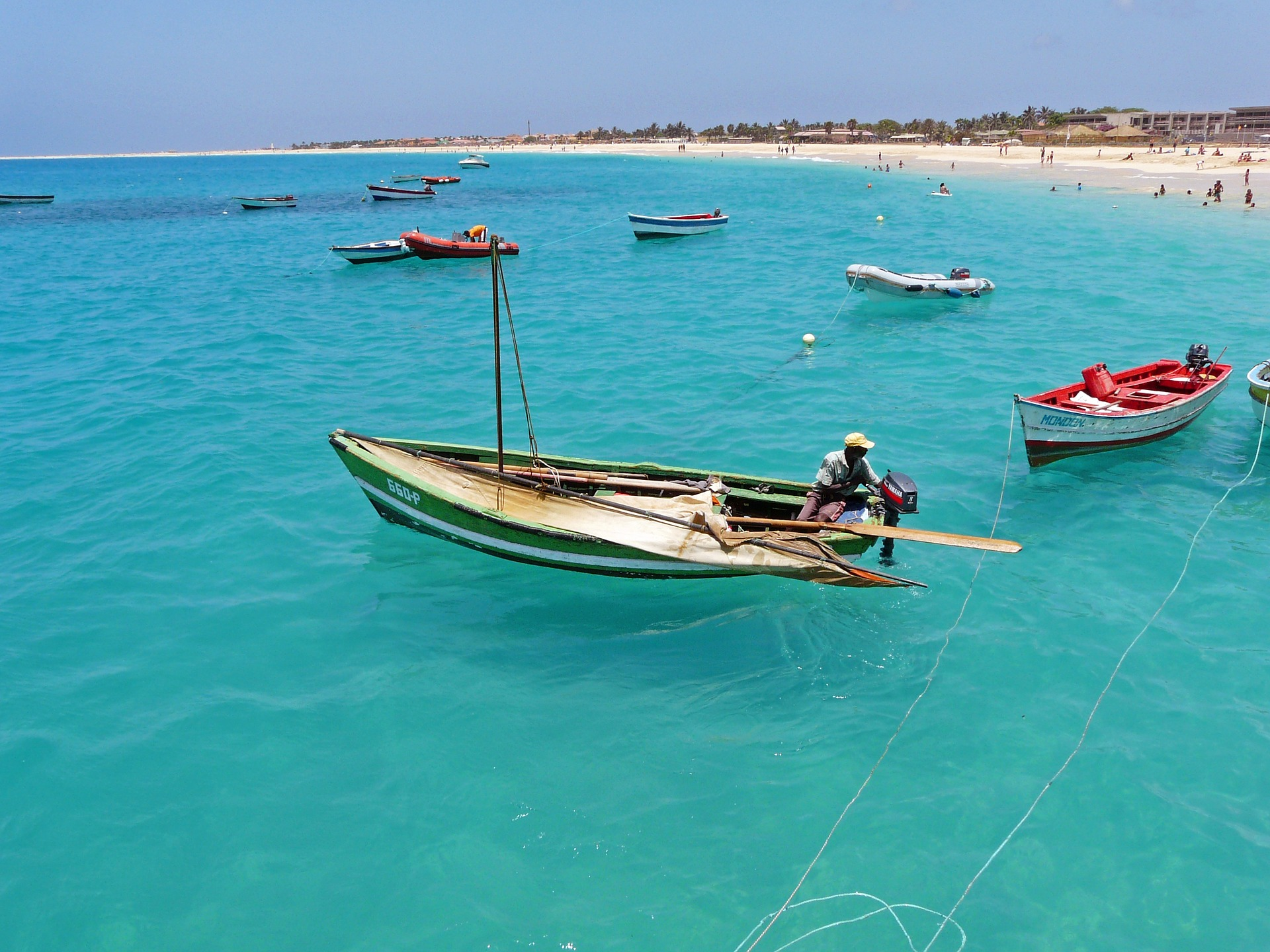 Beach in Cape Verde