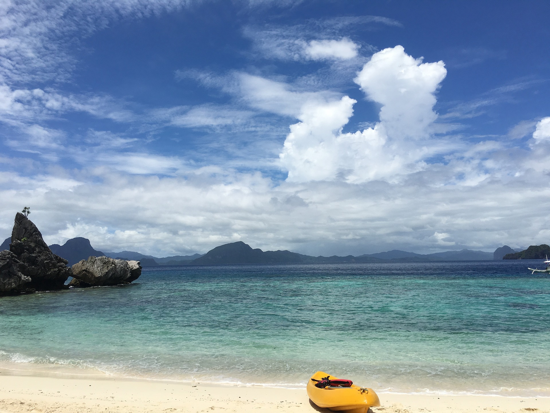 Beach in Palawan, Philippines