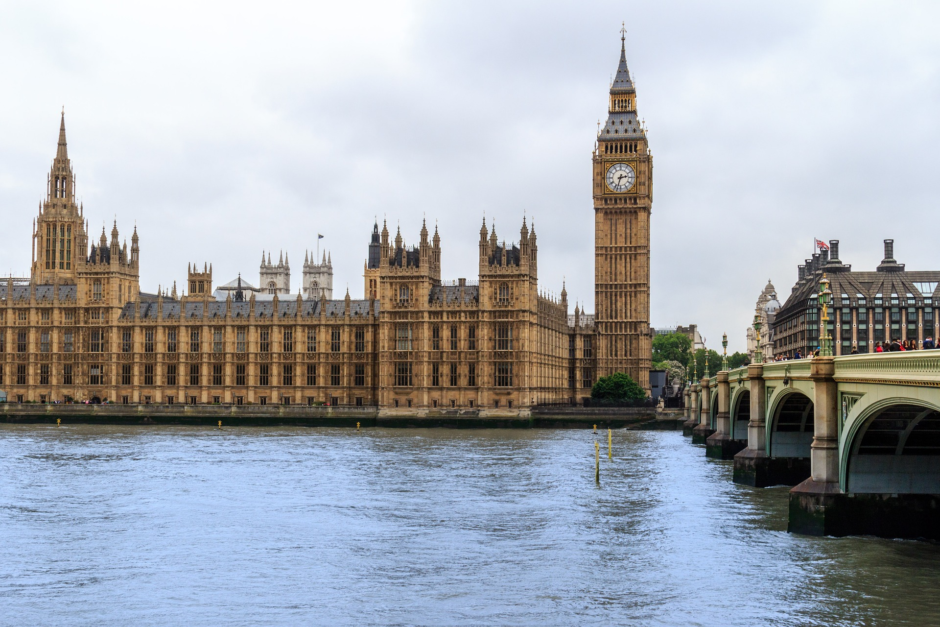 Big Ben, at the Palace of Westminster, London
