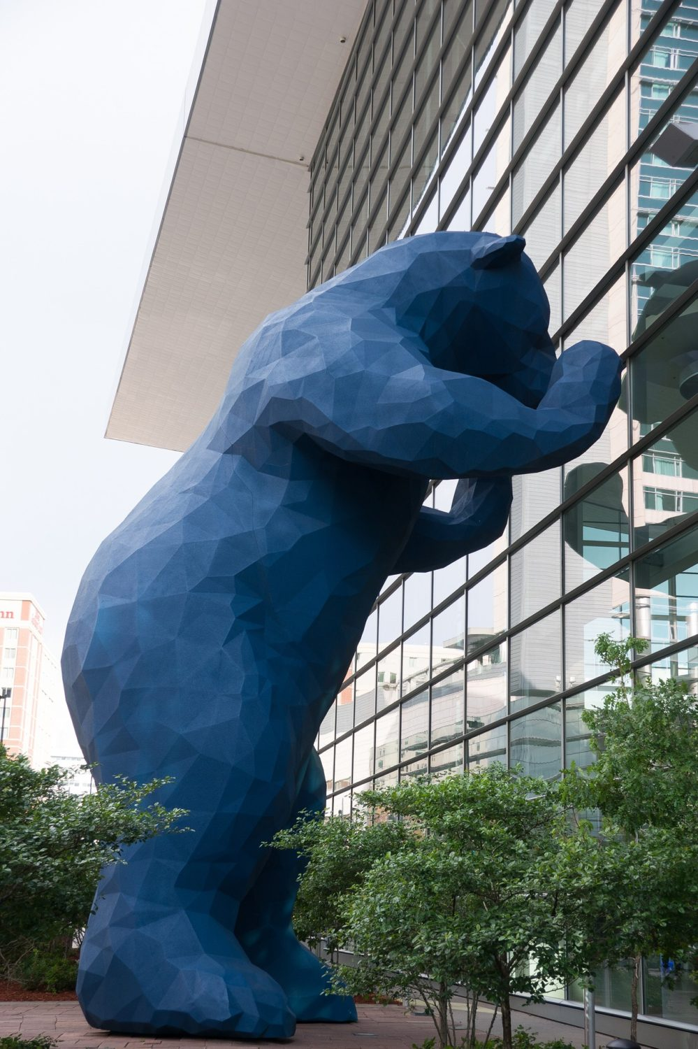 Big Blue Bear at Colorado Convention Center, Denver, Colorado
