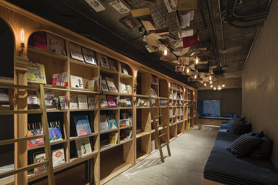 Book and Bed Tokyo-Tokyo, Japan