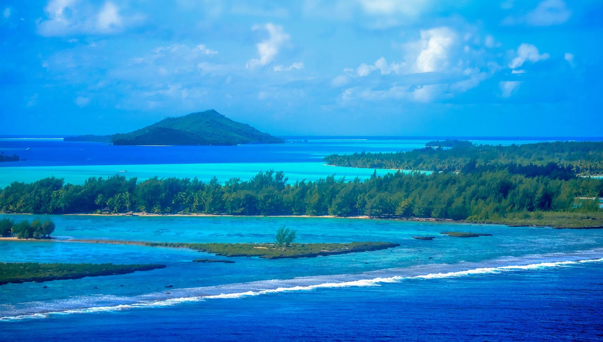 Bora Bora in the French Polynesia