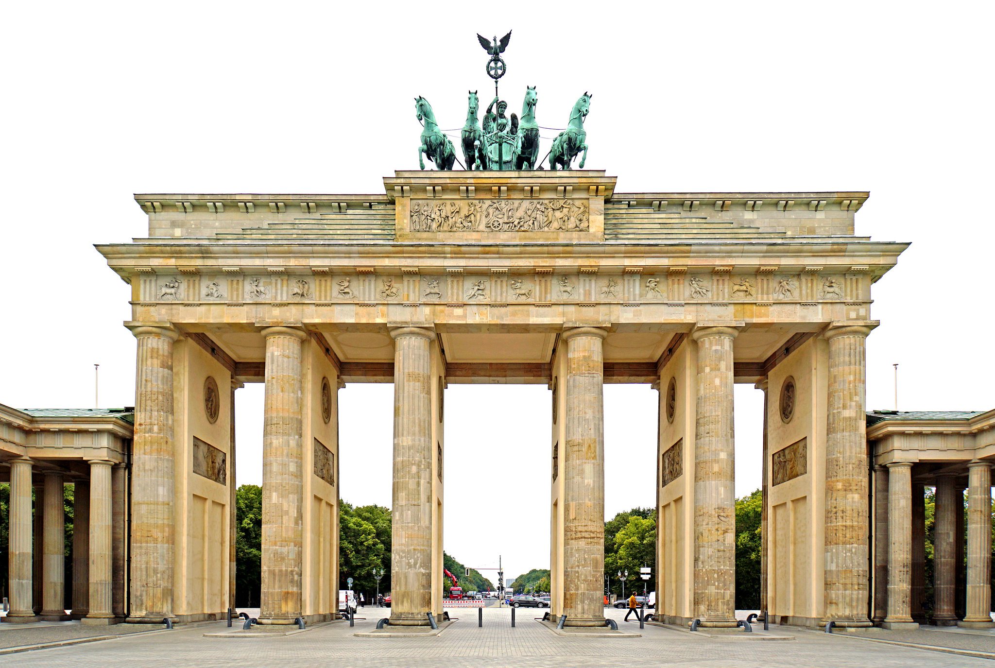 Brandenburg Gate, Ortsteil Mitte, Berlin, Germany