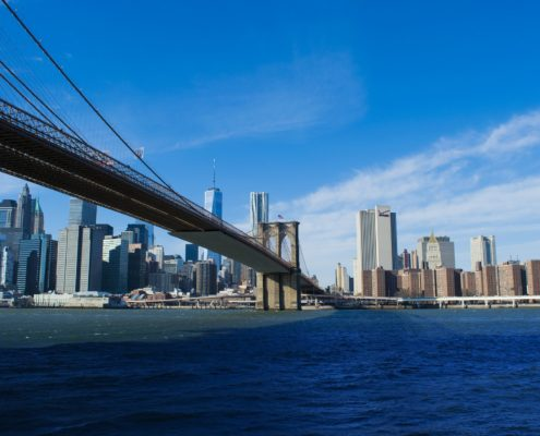 Brooklyn Bridge, New York City, NY, USA
