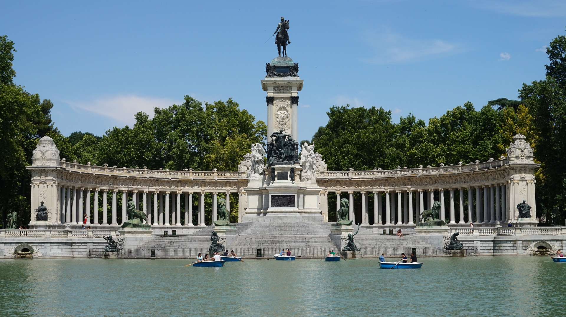 Buen Retiro Park, Madrid, Spain