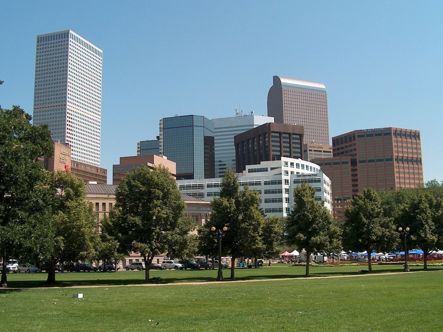 Buildings in Denver Colorado