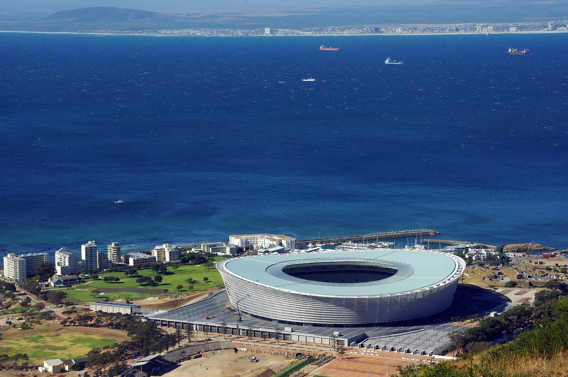 Cape Town Stadium, Cape Town, South Africa