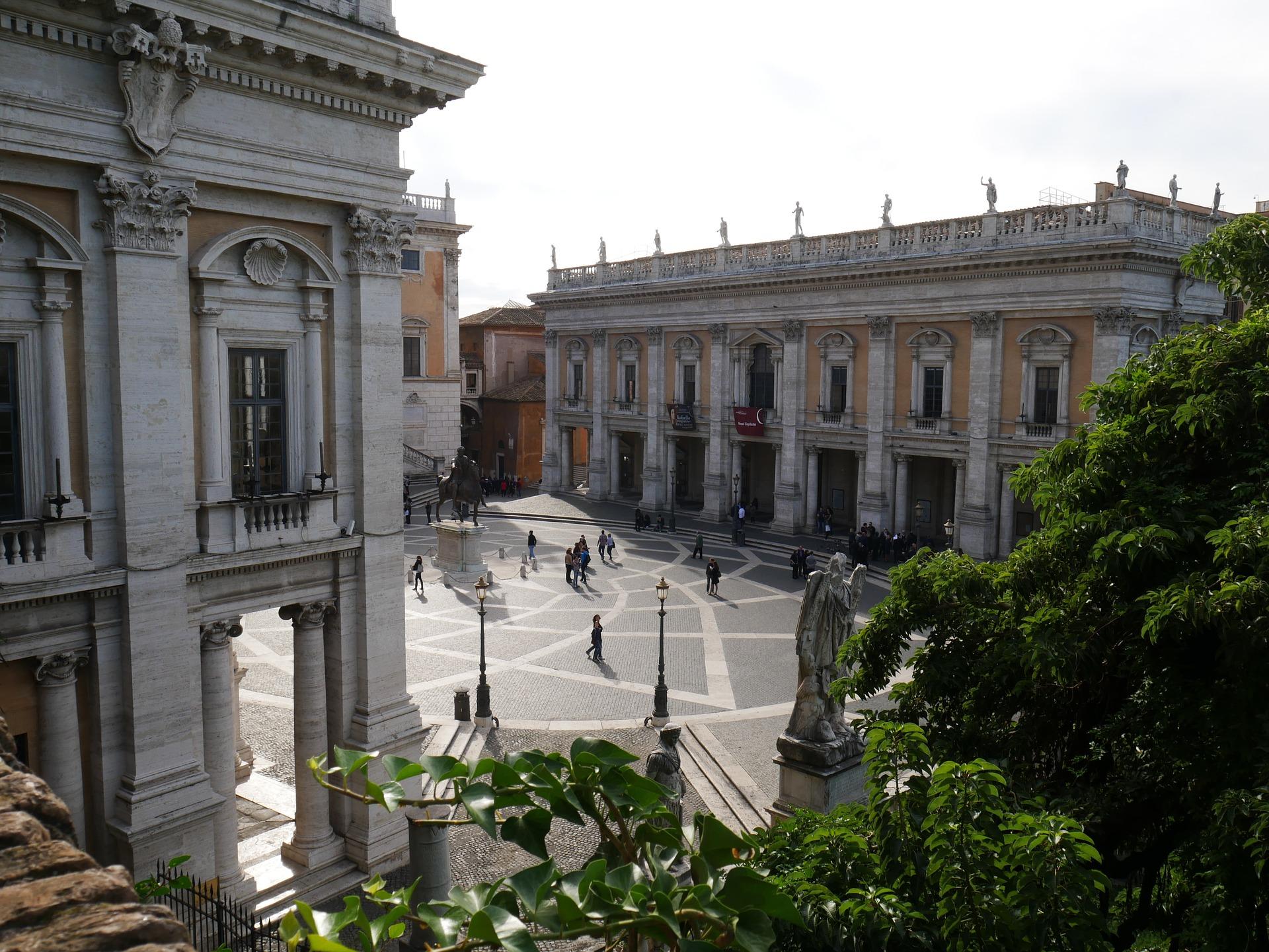 Capitoline Hill Square, Rome