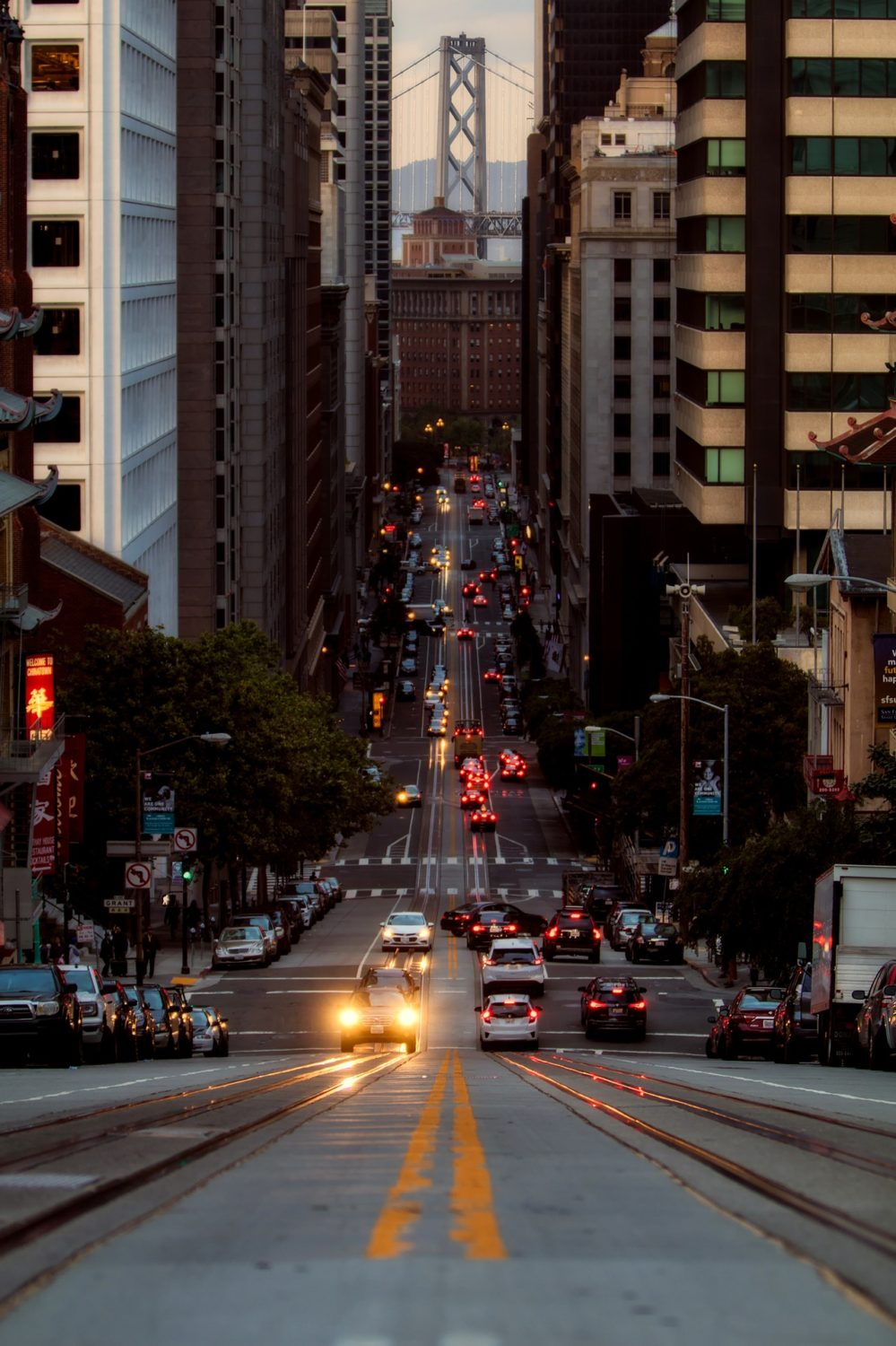 City centre, San Francisco, California