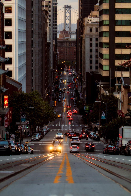 City centre, San Francisco, California