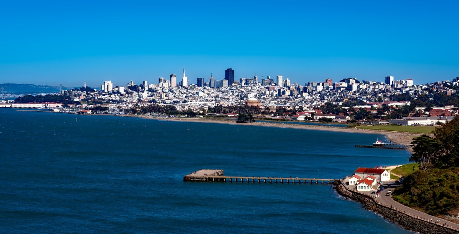 City view of San Francisco, California