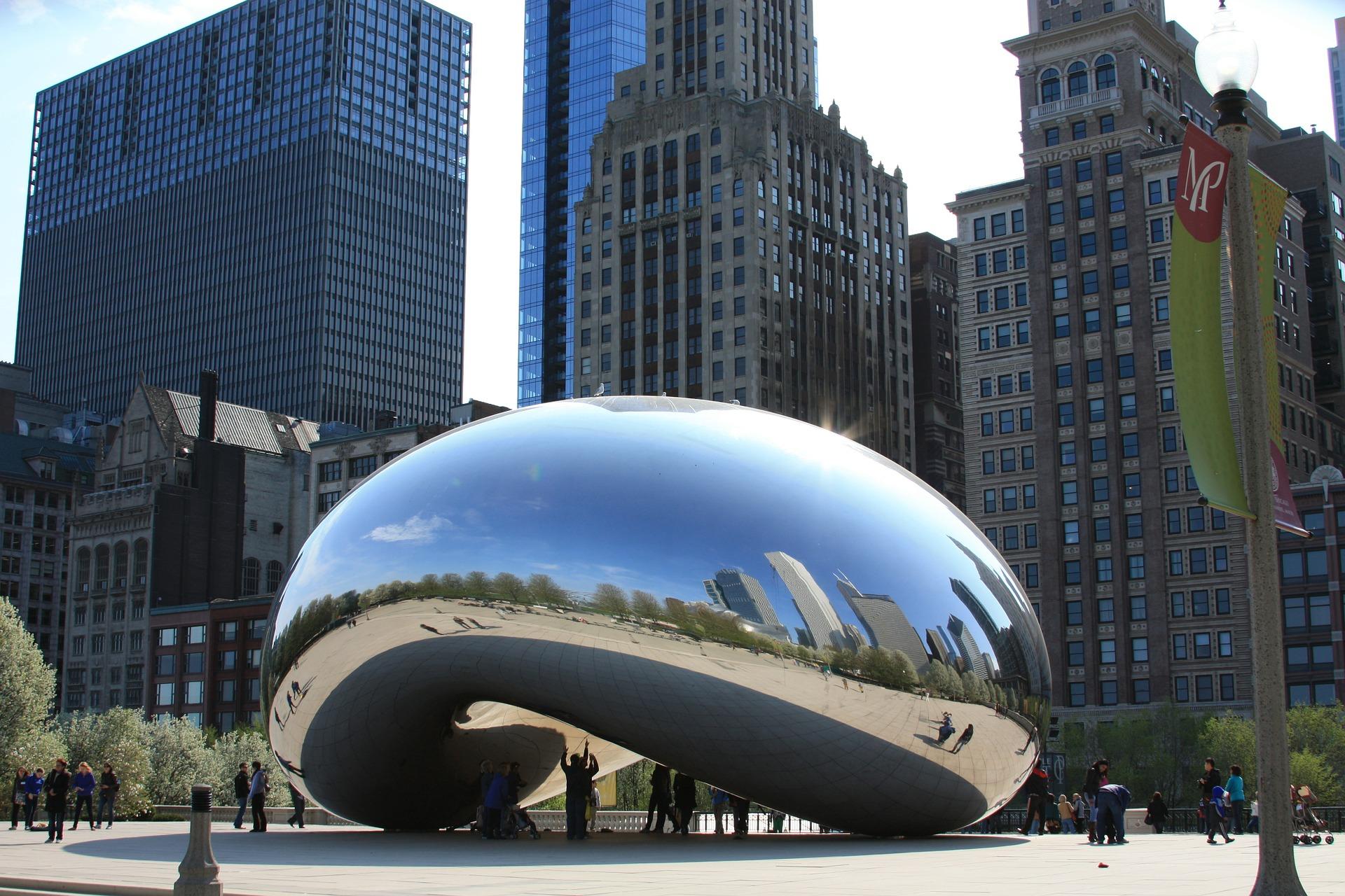 Cloud Gate (Chicago Bean)
