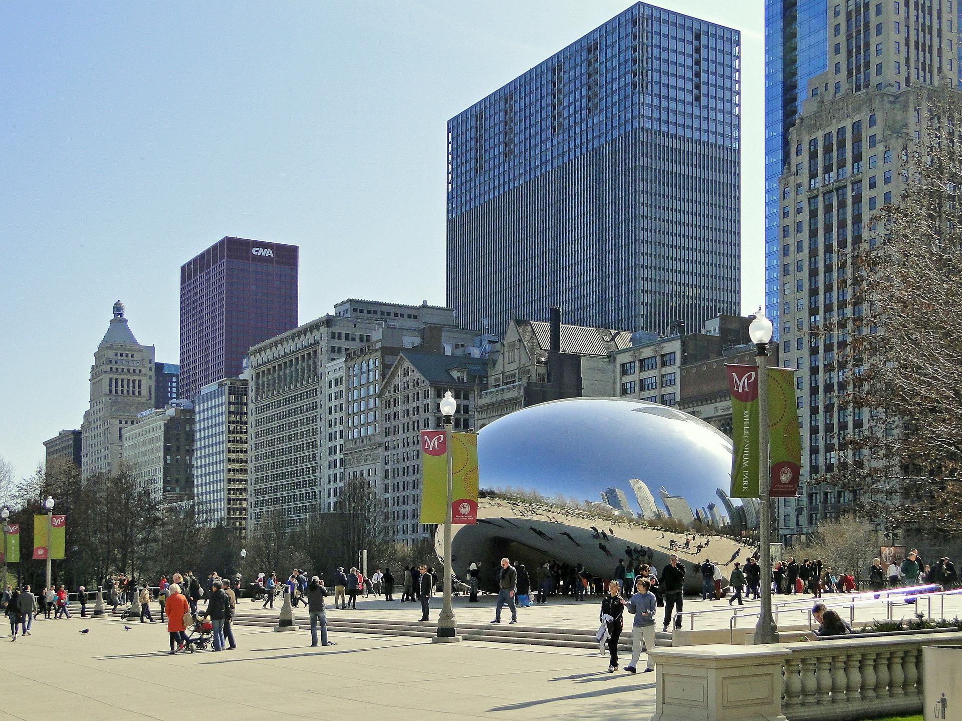 Cloud Gate a.k.a. the Chicago Bean