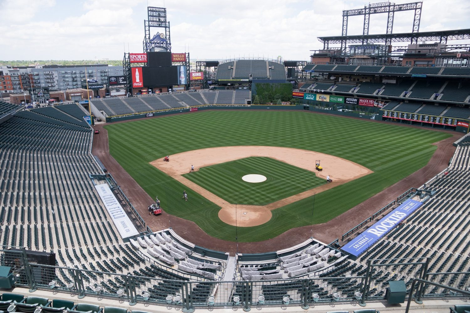 Coors Field baseball stadium, Denver, Colorado