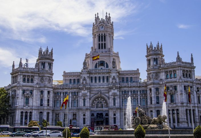 Cybele Palace, Madrid, Spain
