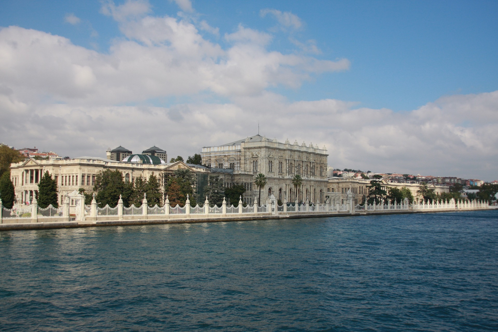 Dolmabahçe (Dolmabahce) Palace in Istanbul, Turkey