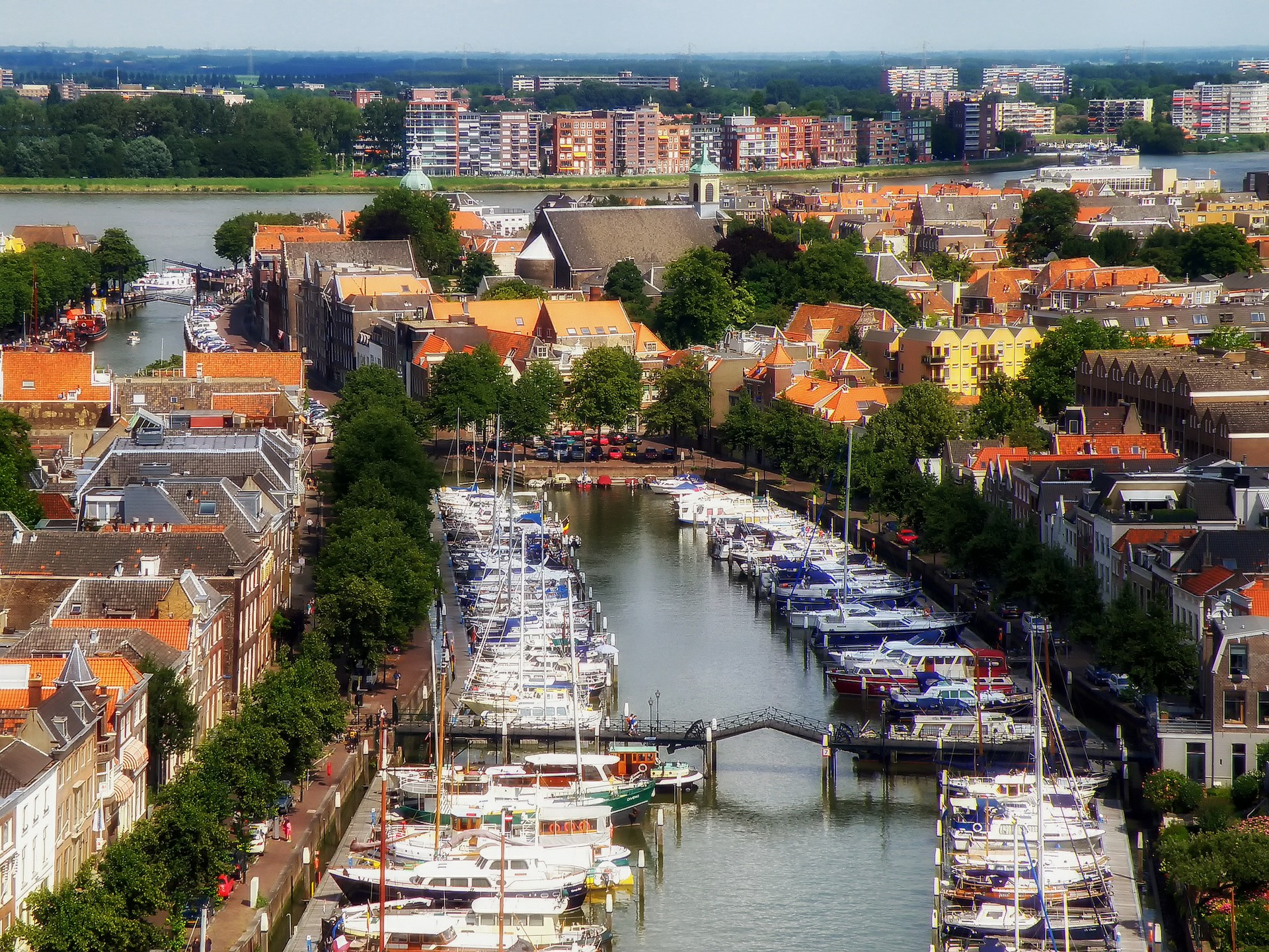 Dordrecht in the Netherlands