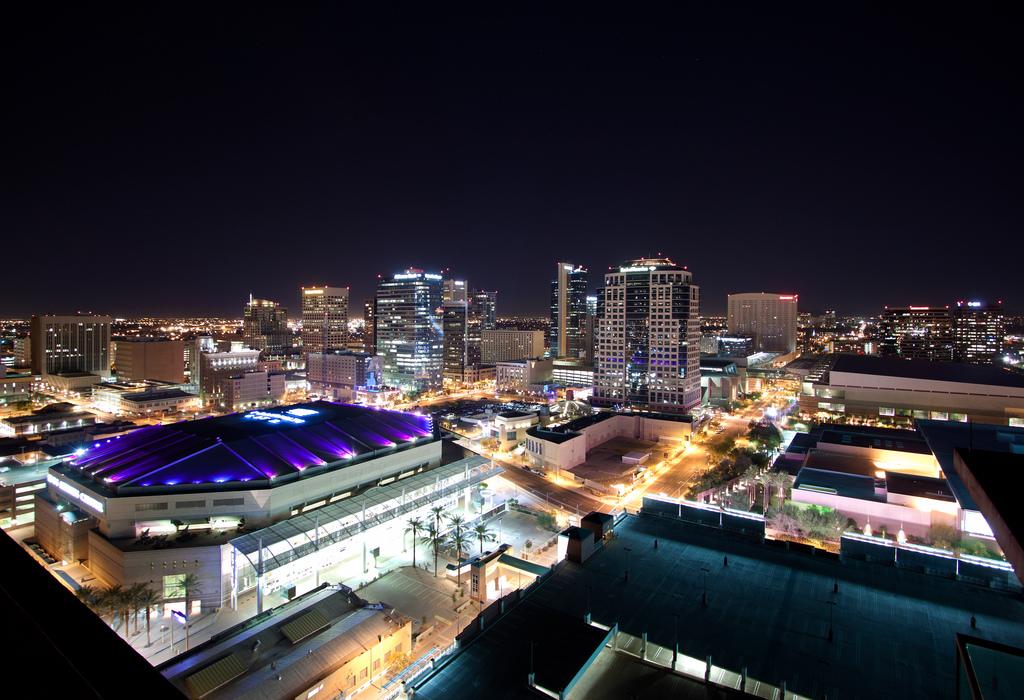 Downtown Phoenix at night